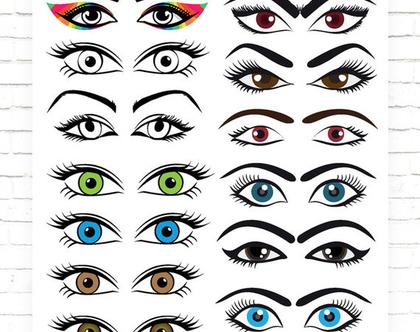 עיניים | | דף סוכר | קישוט עוגות | ביצה שוקולד | דף טרנספר | מראה עיניים | צבעים עיניים