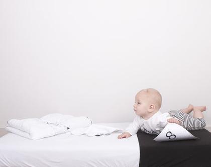 סדין למיטת תינוק/מעבר