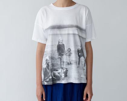טי שוודיה, חולצה קצרה, טישרט מודפסת, חולצה מודפסת, טישרט מיוחדת, חולצה לבנה