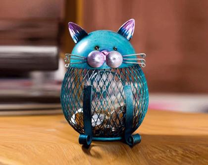 קופסת חסכון בצורת חתול