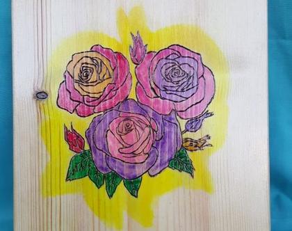 ורדים בגוונים