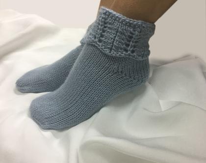 גרביים מצמר טהור סריגה ביד