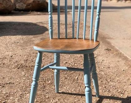 כיסא בצביעה אומנותית