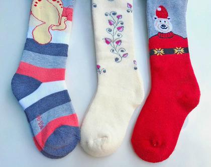 גרביונים עבים מכותנה גיל 3-4-5 | גרביונים מכותנה | גרביונים עבים | גרביונים לילדה | גרביונים לחורף | גרביונים לבנות | גרביונים איכותיים |