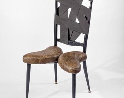 כסא וינטג' משופץ