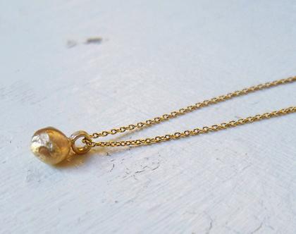 שרשרת זהב 14k - תליון ירח