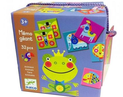 משחק זכרון-חיות צבעוניות