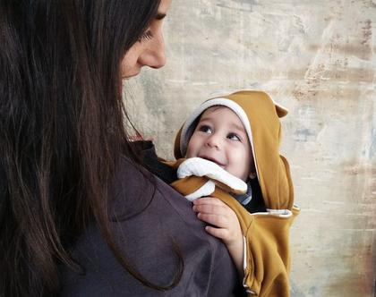 שמיכה למנשא תינוק
