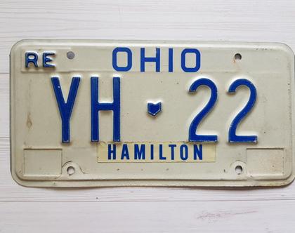 לוחית רישוי אמריקאית - לוחיות רישוי - לוחית רישוי אוהיו 22 ...