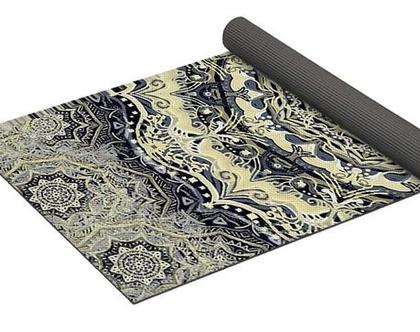 שטיח ליוגה-שטיח למדיטציה-שטיח לפילאטיס-PVC- טיק מתנה- מיוצר בUSA- משלוח חינם
