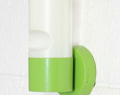 מנורת קיר וינטאג׳ איטלקית, מנורת קיר ירוקה
