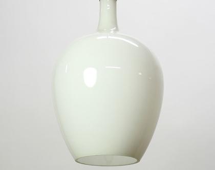 מנורת תקרה וינטאג׳ לבנה