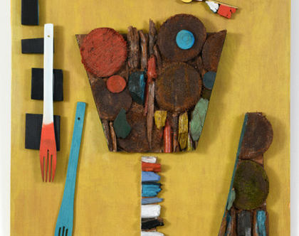 תמונה לבית | תמונה צבעונית | פסיפס עץ | עיצוב אומנותי |