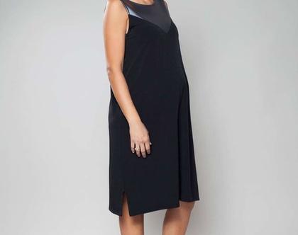 שמלת ערב שחורה, שמלת מידי, שמלה לאירוע, שמלת joy