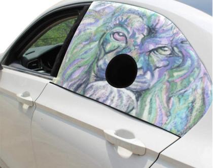 מגן חלון האוטו לכלבים-בטיחות בדרכים- חכם ומצחיק