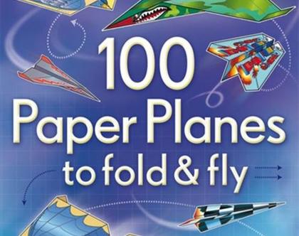 ספר 100 מטוסי נייר