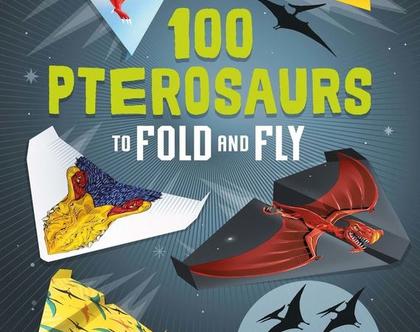 ספר 100 מטוסי נייר דינוזאורים
