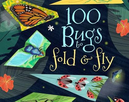 ספר 100 מטוסי נייר חרקים