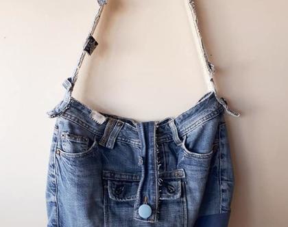 תיק צד ג'ינס