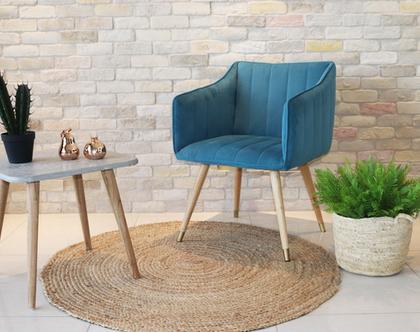 כורסא מבד לסלון