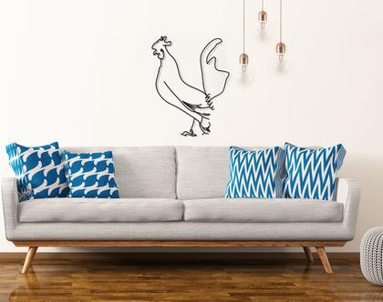 פסל תרנגול , פסלון דקורטיבי למדף