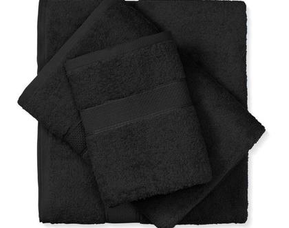 מגבת איכותית ורכה - שחור