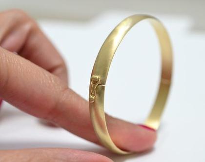 צמיד זהב 14קארט | צמיד עם חריטת שמות |