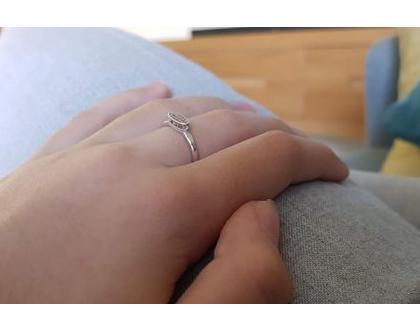 טבעת זהב 14קארט | טבעת עדינה| טבעות חריטה