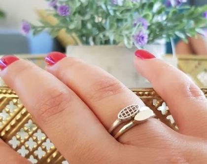 טבעת זהב 14קארט | טבעת זהב עדינה | טבעות זהב | זהב לבן | זהב צהוב | זהב אדום