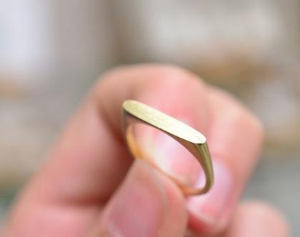 טבעת זהב 14קארט | טבעות עם שמות | טבעות חריטה