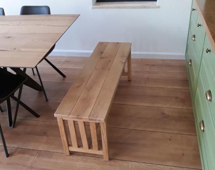 ספסל/שולחן מעקינה מעץ אלון   ספסל לפינת אוכל   ספסל לאמבטיה   ספסל לחדר שינה   ספסל פסנתר