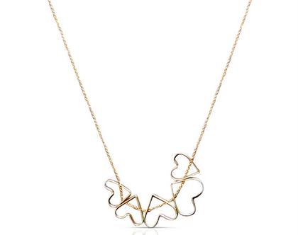 שרשרת זהב , שרשרת לבבות, שרשרת זהב מיוחדת, שרשרת זהב 14 קארט