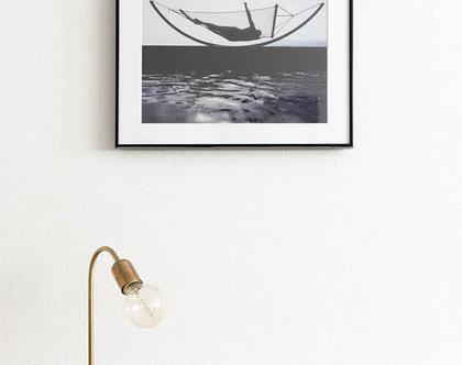 מנורת פליז, מנורת לילה זהובה, מנורת זהב