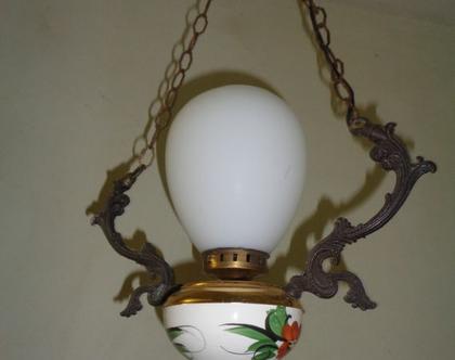 מנורת תקרה|תאורת וינטאג|מנורה לכניסה לבית|