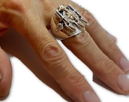 טבעת חותם, תכשיטים לגבר, טבעות מעצבים, תכשיטים מעוצבים, טבעת מיוחדת, מתנה מקורית לגבר, טבעות לגבר עם אבן, טבעות לגבר מכסף