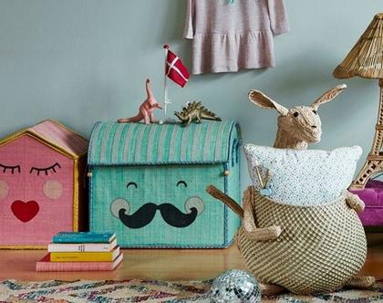 סל כביסה לתינוק, סל אחסון לצעצועים, סל אחסון למשחקים, סל אחסון לבובות