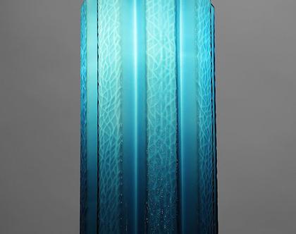 מנורת מורנו וינטאג׳ כחולה, מנורת תקרה כחולה, מנורת מורנו כחולה