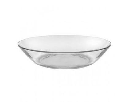 צלחת עמוקה למרק | צלחת זכוכית עמוקה למרק | צלחות דורלקס | צלחות זכוכית | בישול והגשה |