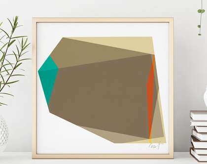 אומנות מודרנית, הדפס גיאומטרי, הדפס דיגיטלי