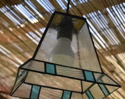 במבצע ! תאורה מעוצבת צבע טורקיז גדולה לבית לפינת אוכל,מטבח ולכל חלל הבית.