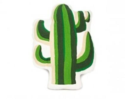KK כרית בצורת קקטוס ירוק