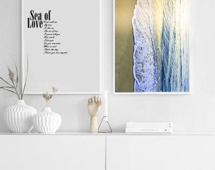 סט 2 תמונות - SEA OF LOVE