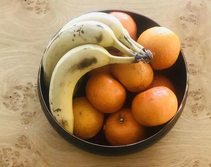 קערת פירות | קערה לסלט | קערה מעוצבת | קערה מנירוסטה בישול ואפייה עיצוב הבית כלי מטבח