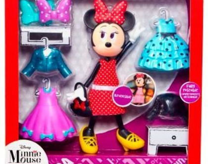 בובות מיני מאוס להלבשה ומשחק בגודל של ברבי