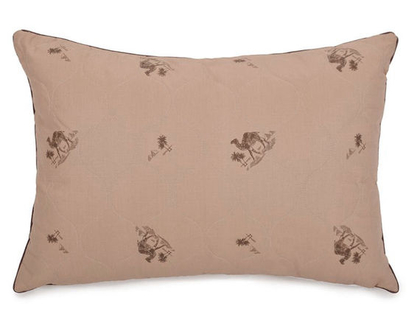 כרית שינה מצמר גמלים כרית דו קאמרית כרית שינה במילוי צמר כרית שינה נוחה צמר גמלים
