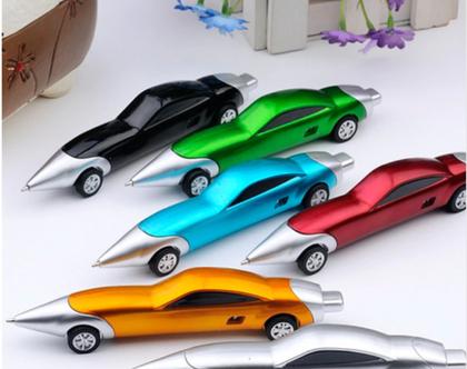 עט בצורה מכונית | עט למתנה | עט לילד ולגבר | עט בצבע מבריק