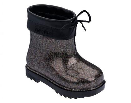 מגפי גשם מיני מליסה . בצבע שחור MINI MELISSA RAIN BOOT BB - דגם 32424