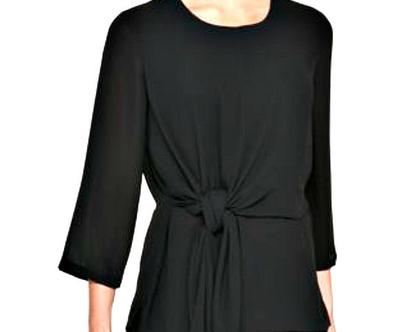 DKNY-Donna Karan | חולצת שחורה דונה קארן