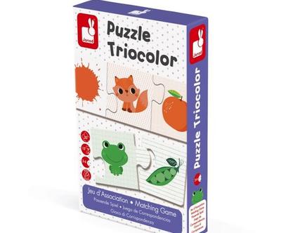 משחק פאזל התאמה 30 חלקים TRICOLOR