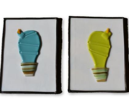 תמונות קקטוס מקוריות מזכוכית סילבינה עיצובים